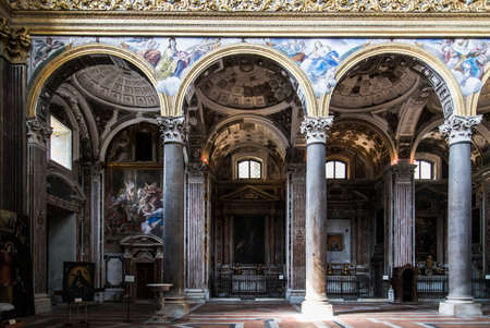 convent: the convent and Church of Gerolamini complex in Naples, Italy