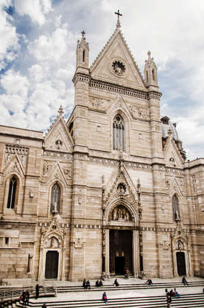 commissioned: Naples Cathedral is the main church of Naples, southern Italy, commissioned by King Charles I of Anjou, completed in the early 14th century under Robert of Anjou.