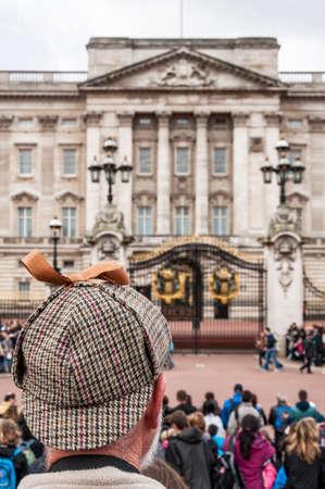 buckingham palace: facade of Buckingham Palace in London, UK