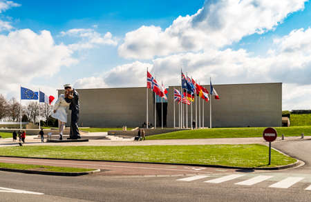 basse normandy: Memorial de Caen museum dedicated to the history of the 20th century