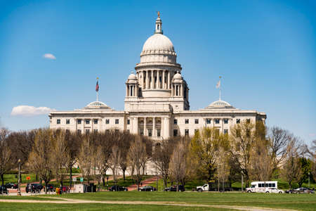 legislature: The Rhode Island State House Stock Photo