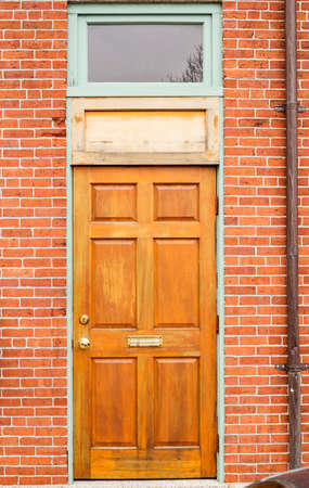 Front Door Of A New England House In Portsmouth, New Hampshire Stock Photo    91494853