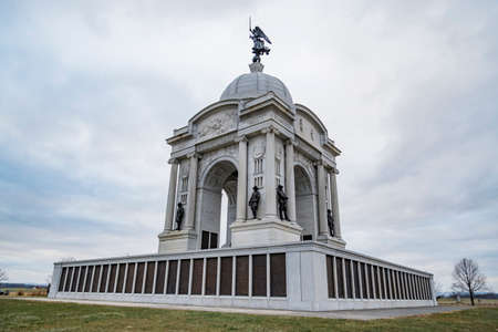 Gettysburg National Military Park, the monument for Pennsylvania Division