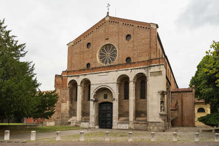 Scrovegni Chapel in Padua, Italy in summertime Stock Photo
