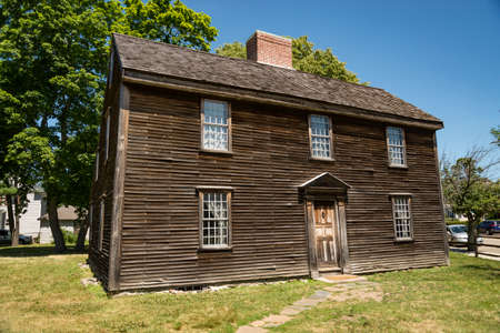 Birthplace of John Adams, the 2nd President and Revolutionary War hero, Adams National Historical Park in Braintree, Quincy, MA.