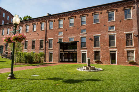 The old and historical Mill in Amesbury, Massachussets, USA