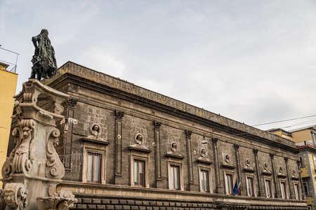 Beautiful buildings, The Orsini di Gravina University of architecture in Naples, Italy