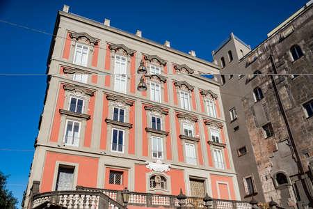 SantAntonio delle Monache, Famous building in Piazza Bellini in Naples, Italy