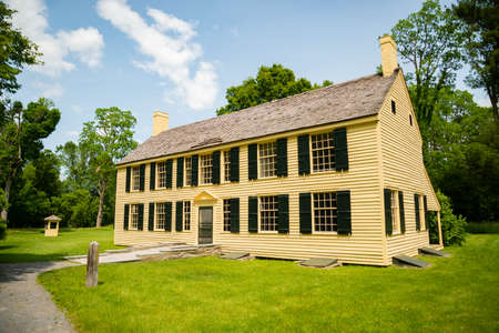 General Schuyer historical house in Saratoga NY , USA