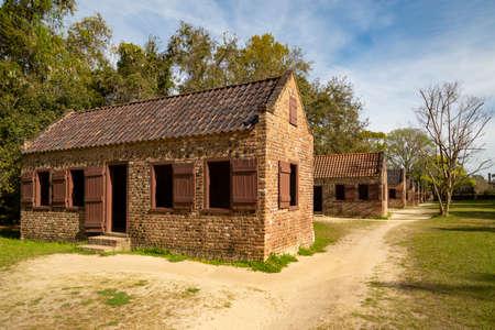 Slave's quarters on the Boone Hall Plantation, Charleston, South Carolina