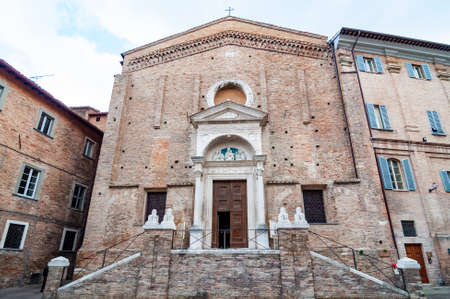 San Domenico church in Urbino, Italy.
