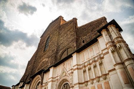 Basilica di San Petronio, Bologna Stock Photo