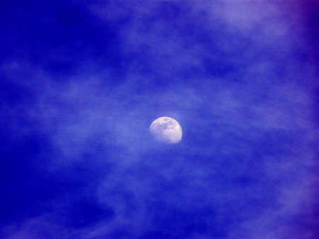moon in a cloudy night Stock Photo - 844454