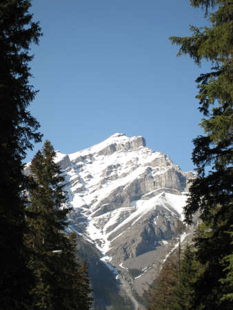 rocky mountains at banff, canada