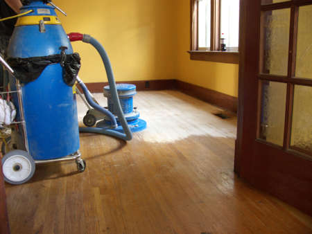 hardwood floor sanding and refinishing photo