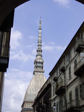 a view of Mole Antonelliana in Torino Italy