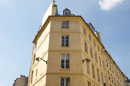 Old building in Paris Stock Photo