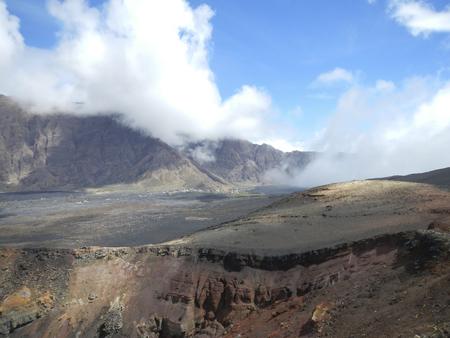 Fogo volcano lava field in Cape Verde, Africa Standard-Bild