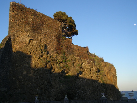 Old fortress on cliff