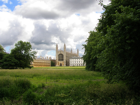 Kings college in Cambridge, UK Editorial