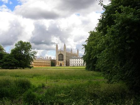 cambridge: Kings college in Cambridge, UK Editorial