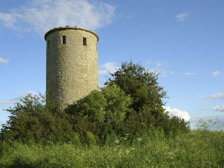 feudalism: Medieval watchtower in castle