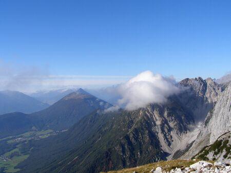 bavarian: View of Bavarian Alps
