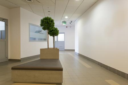 Office corridor Standard-Bild