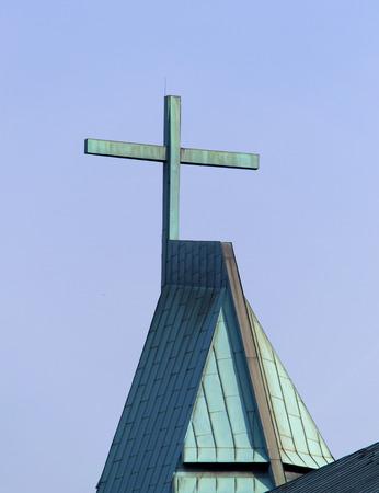 lutheran: Cross on a Lutheran church