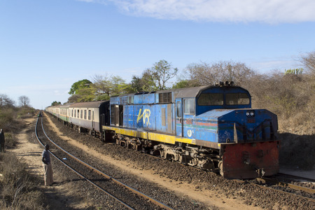 Kenyan railway train