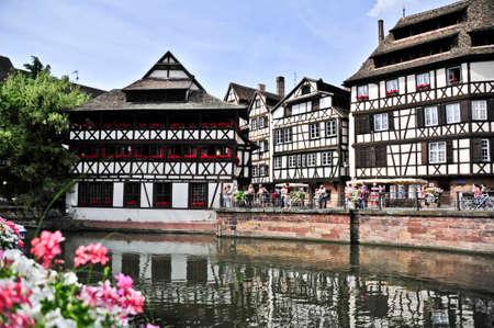 strasbourg: View of La Petit France in Strasbourg, France Stock Photo