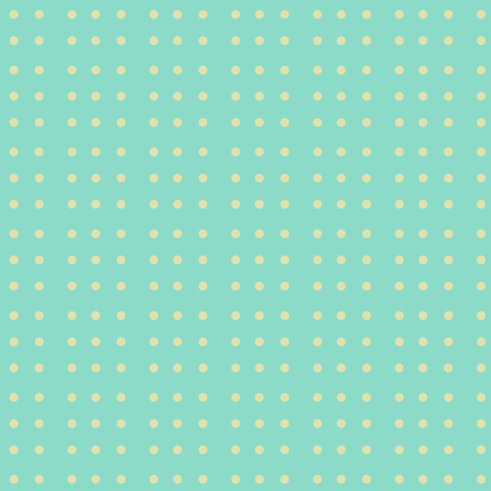 blue light background: Seamless pattern,  with yellow dots,  over light blue  background. retro style Illustration
