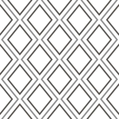 fondo geometrico: Seamless geometric pattern over the white background. Geometric background