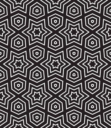 fondo geometrico: Modelo geom�trico incons�til sobre el fondo negro. Fondo geom�trico
