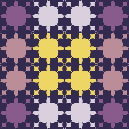 fanciful: Seamless pattern design. Decorative abstract background in blue and violet colors