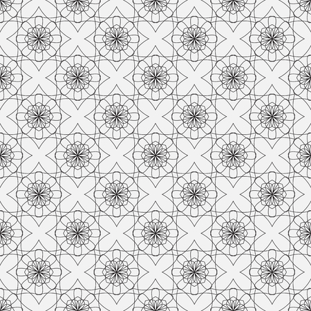 intricate: Vector seamless pattern. Modern decorative design template. Creative intricate background.