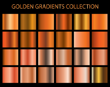 Golden gradients collection for any kind of your design