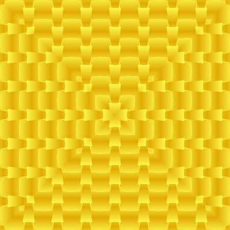 밝은, psychodelic 원활한 패턴. 모자이크 장식 디자인 템플릿입니다. 기하학적 추상 배경입니다. 황.
