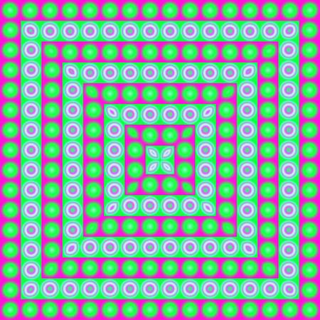 밝은, psychodelic 원활한 패턴. 모자이크 장식 디자인 템플릿입니다. 기하학적 추상 배경입니다.