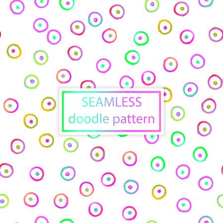 벡터 원활한 패턴입니다. 손으로 그린, 낙서, 잉크, 그런 지 배경. 간단한 디자인 템플릿입니다. 일러스트