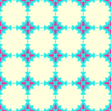 Seamless pattern in arabic style. Muslim, japanese, eastern, oriental colorful background. Stock Photo