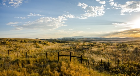 Early morning light shines on the   great divide  in northwester Colorado  Reklamní fotografie