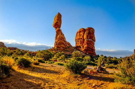 Balanced Rock Arches National Park photo
