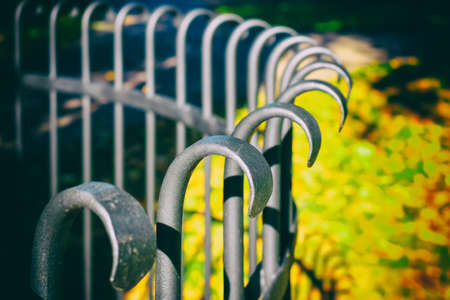 malleable: Tree fence