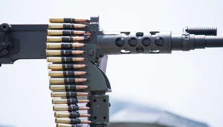 High Caliber Gun with bullets