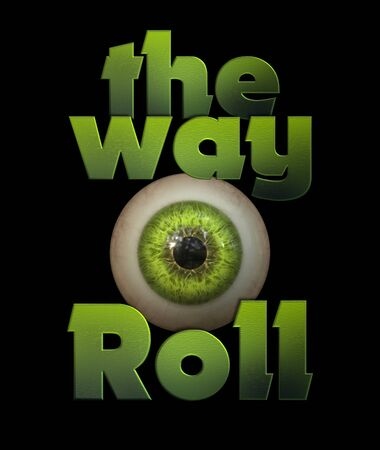 The way eye roll graphic tshirt design