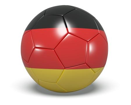 Soccer Ball - Germany Stock Photo