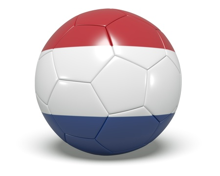 Soccer Ball - Netherland Stock Photo