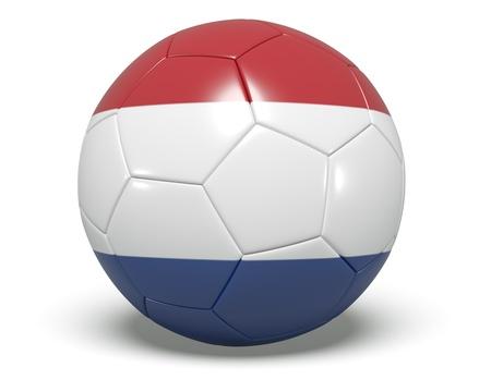 Soccer Ball - Netherland Stock Photo