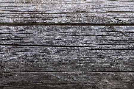 timbered: Dark country timbered wooden logwall with fracture